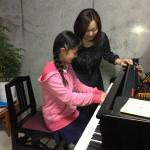 ピアノレッスン写真